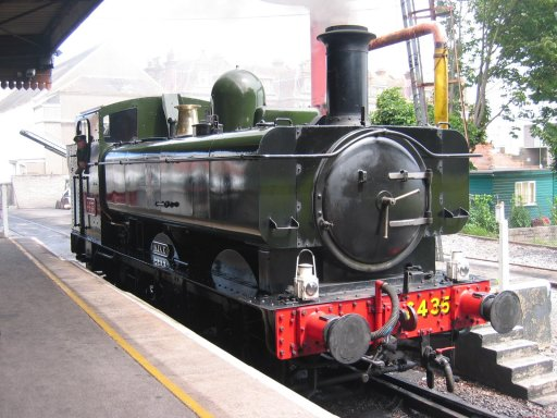 GWR 6435 @ Paignton on Dartmouth Steam Railway